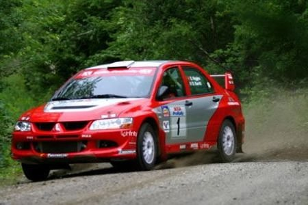 Mitsubishi Evo[David Higgins]