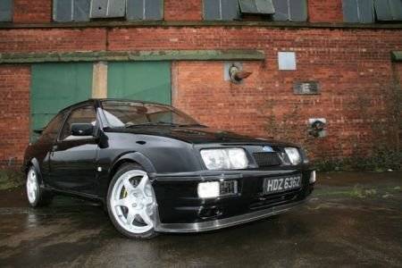 SIERRA COSWORTH 3DR featured in June issue of PERFORMANCE FORD. <br>Picture www.smcphotography.co.uk