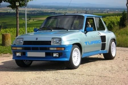 RENAULT 5 TURBO 2 FITTED WITH THE LATEST RT DESIGN WHEELS