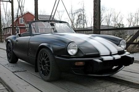 TRIUMPH SPITFIRE FITTED WITH 6X15 TH131560 MATT BLACK