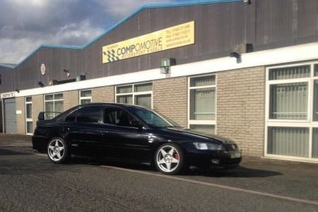 Alan's Honda Accord Type R