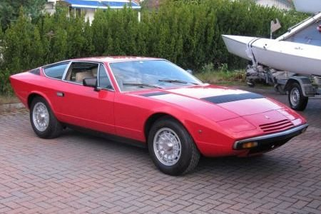 Maserati Khamsin owned by Stein Knardahl