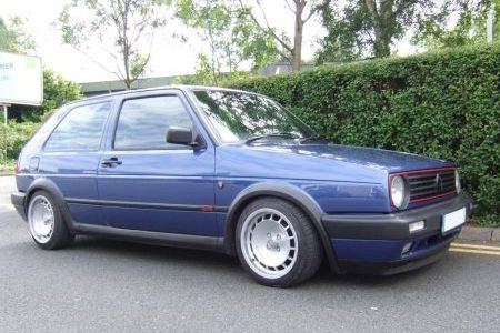 TH1581 MK2 Golf with 195 section tyres