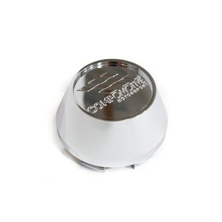 Chrome Plastic 2.5 CAP x4