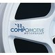 Blue Compomotive Motorsport Wheel Decals x4